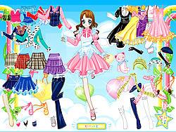 Permainan Air Fairy Dress up