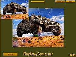Permainan Military Hummer Jigsaw