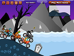 Permainan Zombie Motocross
