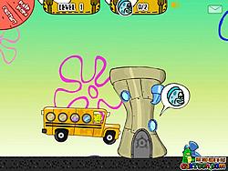 Spongebob School Bus spel