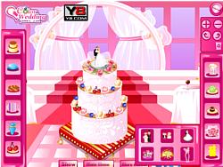 Играть бесплатно в игру Bridal Shower Cake