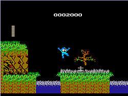 Megaman vs Ghost 'n Goblins oyunu