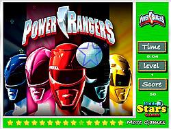 Играть бесплатно в игру Power Rangers Hidden Stars