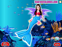 Little Mermaid Dress Up game