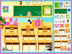 Classroom Make Over oyunu
