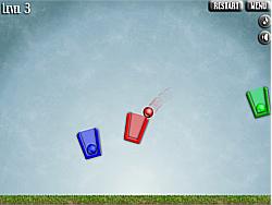 เล่นเกมฟรี Bucket Balls