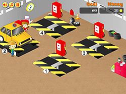 Frenzy Garage Car game