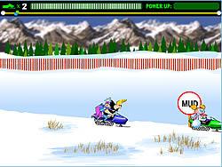 Snowmobile Rally oyunu
