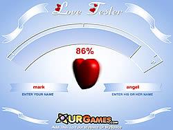 Gioca gratuitamente a Love Tester