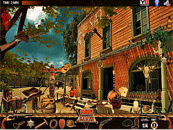 Gun Town Hidden Objects game