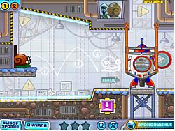 Snail Bob 4 Space game