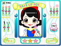 Snow White Make up game