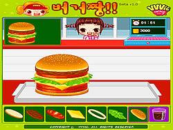 Permainan Hamburger Girl