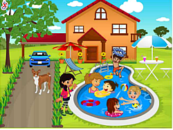 Gioca gratuitamente a Kids Swimming Pool Decor