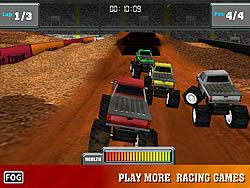 玩免费游戏 Monster Trucker 3D