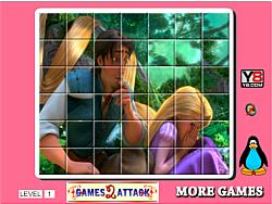 Princess Rapunzel Spin Puzzle