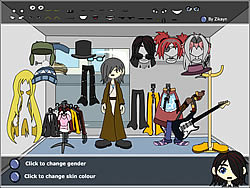 Character Dress Up Creator game