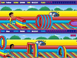 Gioca gratuitamente a Outrageous Obstacle Course