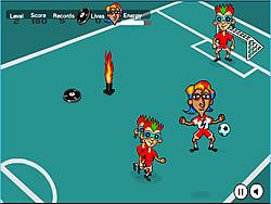 Permainan Rockin' Soccer