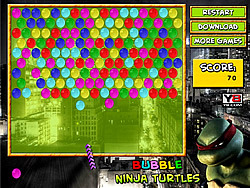 Bubble Ninja Turtles game