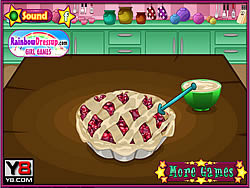 Fun Cooking Cherry Pie game