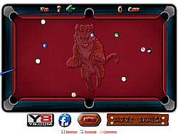 Permainan Straight Billiard