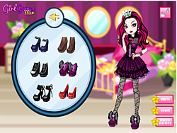 Raven Queen Dress Up game