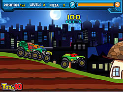 Permainan Ninja Monster Trucks