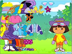 Gioca gratuitamente a Dora the Explorer Dress Up