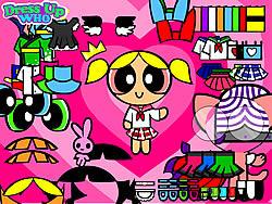 Powerpuff Girls Dress Up oyunu