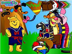 juego Winnie the Pooh Dress Up