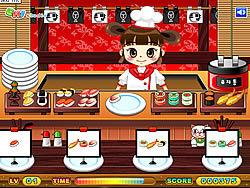 Permainan Sushi Serving