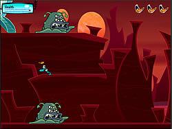 Gioca gratuitamente a Duck Dodgers Planet 8 from Upper Mars: Mission 3