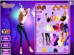 Bold Style Dress up لعبة