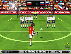 Jogar jogo grátis Football Kicks