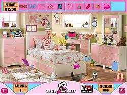 Girl Hidden Objects لعبة