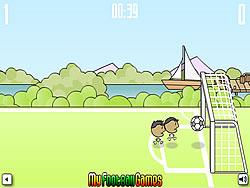 1 on 1 Soccer Brazil game