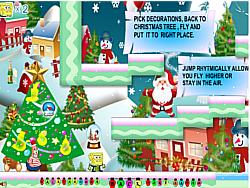 Gioca gratuitamente a SpongeBob New Year Adventure
