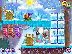 Gioca gratuitamente a Snail Bob 6: Winter Story