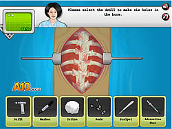 Operate Now: Scoliosis Surgery spel