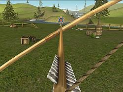 Permainan Bowmaster Target Range