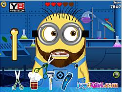 gra Minion At Beard Salon