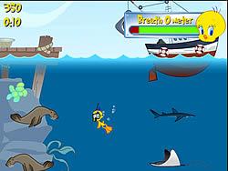 Permainan Tweety's Ocean Cleaning