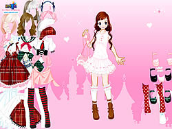 Gioca gratuitamente a Stockings Dress up
