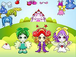 Gioca gratuitamente a Three Fairy Dressup
