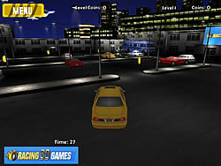 Airport Taxi Parking game
