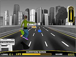 On Street Boarding game