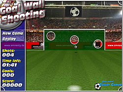 Jogar jogo grátis Goal Wall Shooting