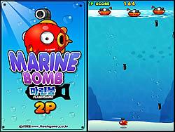 Marine Bombs game