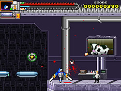 Permainan Bionic Chainsaw Pogo Gorilla